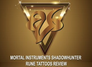 Mortal Instruments Shadowhunter Rune Tattoos Review