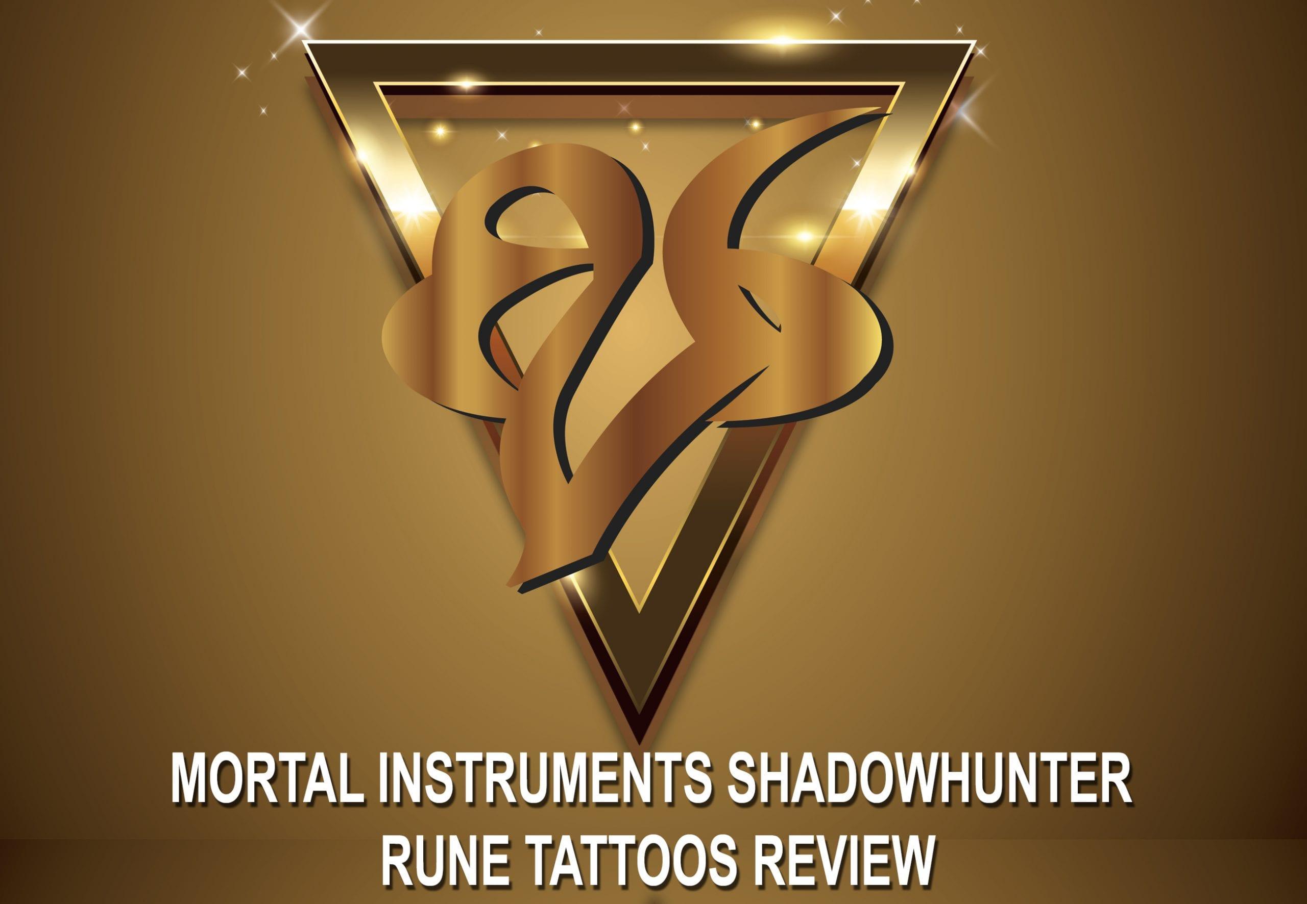 Shadowhunter Rune Tattoos