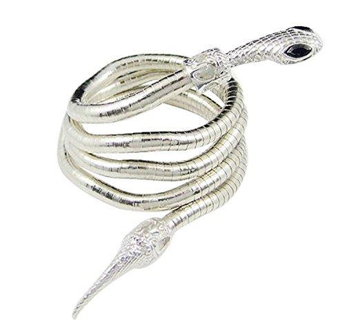 Isabelle Lightwood's Electrum Whipserpent Silver Snake Bracelet