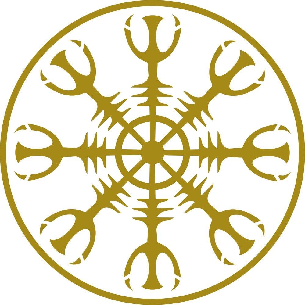 Viking compass design