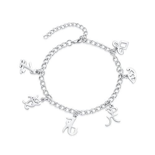 XOCON Angelic Power Rune Symbols Bracelet